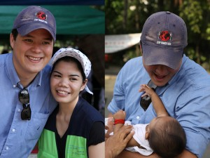 Dominic meets some of the beautiful people we serve in the Philippines.