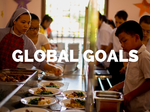 We're committed to the UN's 17 Global Goals to improve the lives of all people everywhere.